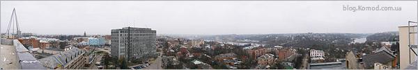 Панорама Винницы